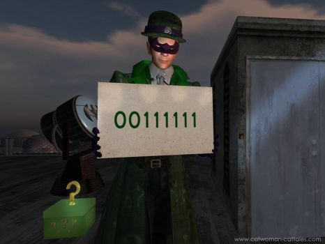 Batman75 Greetings from the Riddler by chrisdee