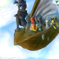Off to see the world by CalimonGraal