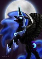 The Dark Moon Rises by Loved-to-Death13