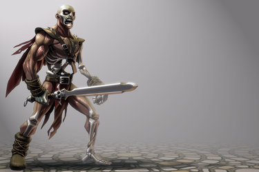 barbarian zombie by Rick-Lee