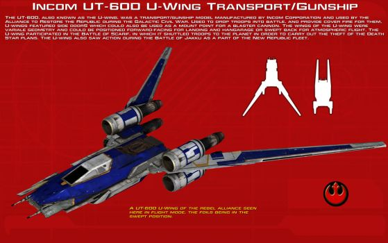 UT-60D U-Wing Transport-Gunship ortho [2][New] by unusualsuspex