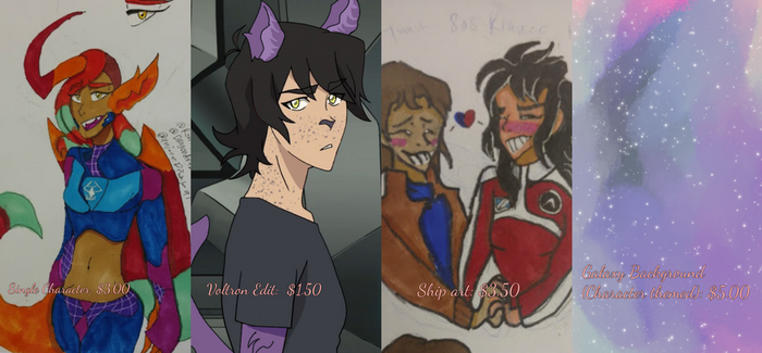 Voltron Commissions (Running from 10/9-15) by DragonArtzStudio