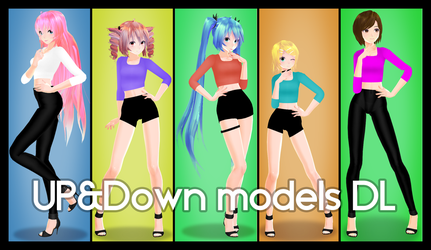 Up and Down   Models DL by ChoiMinYeon