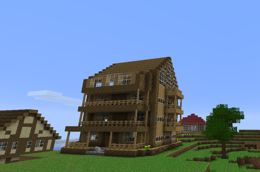 Minecraft house by Markecgrad