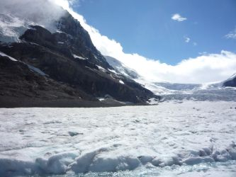 Athabasca Glacier 38 by raindroppe