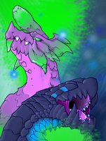 Monstrous Duo by badC4T