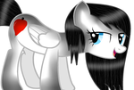 I Know Ur Looking by theshadowpony357