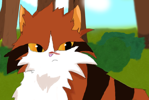 Tigerclaw (click to watch redraw) by Mendaleave