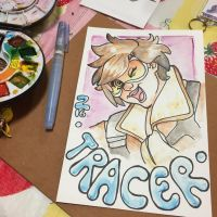 Overwatch -- Tracer by The-Z