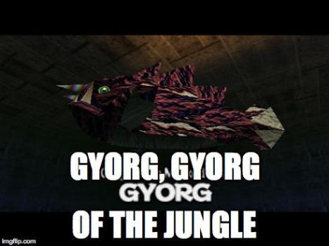 Gyorg of The Jungle by RioDecade96