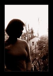 Backlighting Study Two by kalenisis