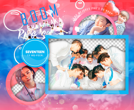 +Pack Png Seventeen|03 by Pohminit