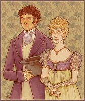 WH: Hareton and Catherine by Velven