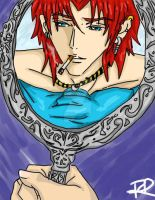 The Man in the Mirror by royswordsman
