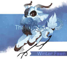 Winter Fawn by NebNomMothership