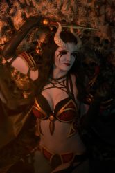 Queen of Pain - Dota 2 by VIRAcosplay