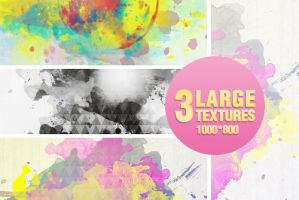 3 Watercolor textures - 2104 by Missesglass