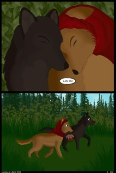 Little Red Riding Wolf. Page 4 by Star--Shard