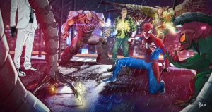 Marvel Spider-man PS4 by P154