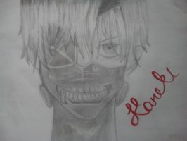 Kaneki by AnotherCartoonist