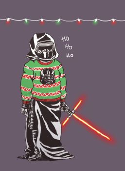 First Order Winter Holiday party Kylo Ren by Soyouz-Aldrin