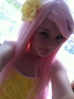 Fluttershy Cosplay by BTRluv4ever