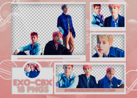 [PNG PACK #489] EXO-CBX - Magic by fairyixing
