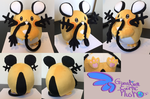 Dedenne Pokemon Plush  9.5'' by GuardianEarthPlush