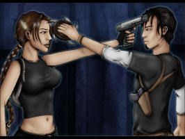 Lara and Kurtis by Cyberfish