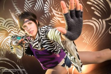Chang kenpo - Michelle Chang by otakitty