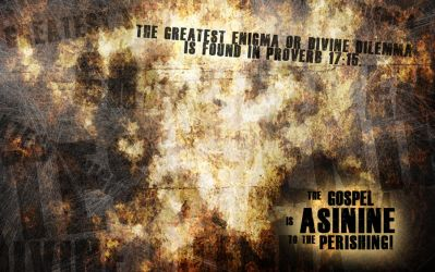The Gospel is Asinine v.2 by whitenine
