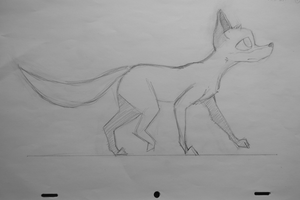 Animal walk cycle [Penciltest] by KayDaKay