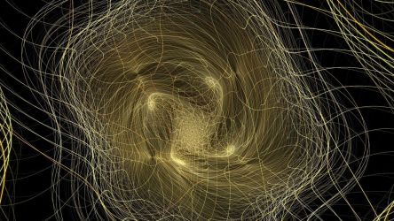 Fiber Optics Tangle by shineout-fractals