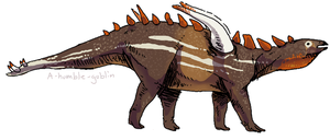 Gigantspinosaurus by Quadrupedal