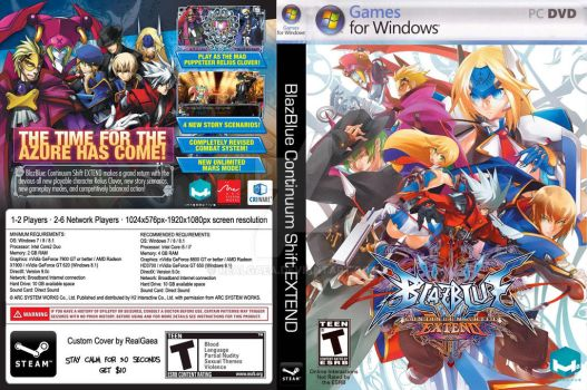 BlazBlue Continuum Shift Extend Custom Cover by RealGaea