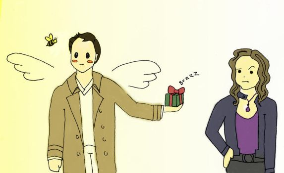 Cas + Meg : The Bee's Knees by Falthee