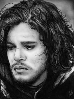 You know nothing, Jon Snow by JulietGarciaArt