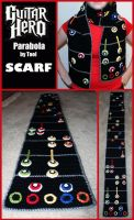 Guitar Hero Scarf by sapphiresphinx