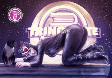 Catwoman moonlight (for Trinquette) by nahp75