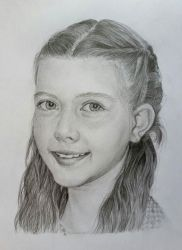 portrait. Pencil drawing by Nelsonito