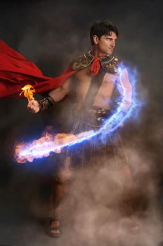Animated Fire Embers and Sparks Photoshop Action by GraphicAssets