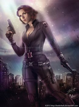 The Avengers: Black Widow by keelerleah
