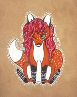 Lovely Fox by RedCloudlet