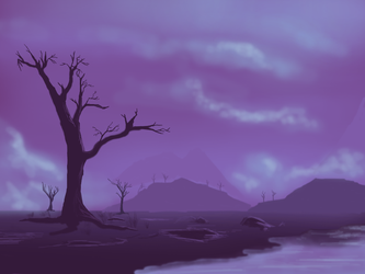 Purple Morning Dew by S-ProductionGames