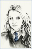 Luna Lovegood by thewholehorizon