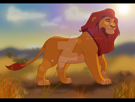 King of Pridelands by LeoHeleo
