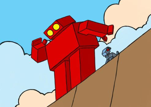 Red Robot v2.0 by miknimator