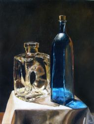 Still Life - Oil Painting by Marbletoast