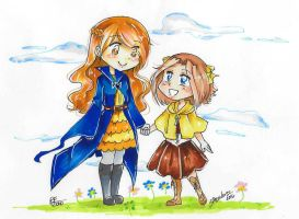 Collab: Clara and Killi by SRealms