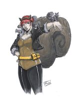 FOR SALE: Squirrel Girl Original Art by Shono